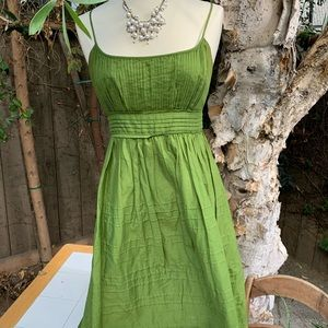 Vintage classic green special occasion dress